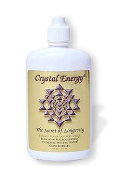 Preisvergleich Produktbild Phi Sciences Crystal Energy - Das Geheimnis der Langlebigkeit (120ml)