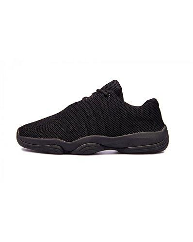 BestStyle - Chaussures homme basket noire Noir