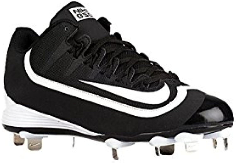 Nike Men's Huarache 2KFilth Keystone Mid Baseball Cleat, Negro, 41 D(M) EU/7 D(M) UK