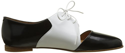 Emma Go Casey, Chaussures de marche nordique femme Multicolore (Cordoban Black & Calf White & Cordoban Black)