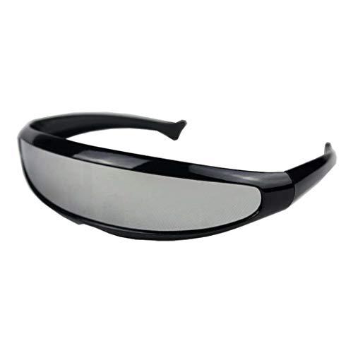VRTUR Radbrille Polarisierte Sportbrille Sport-Sonnenbrille Erwachsene Sportbrille Fahrradbrille für Herren Damen, für wie Radfahren Laufen Autofahren Angeln Golf (One size,B)