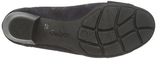 Gabor Credible, Escarpins femme Bleu (Dark Blue Suede)