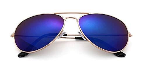 YUHANGH Mode Sonnenbrillen Frauen Pilot Stil Weibliche Sonnenbrille Metallrahmen Aviator Sonnenbrille Für Männer Uv400