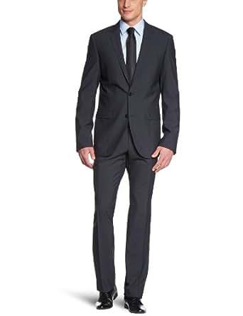 ESPRIT Collection Herren Anzugsjacke Slim Fit 993EO2G900, Gr. 44 (XS), Schwarz (001 black)