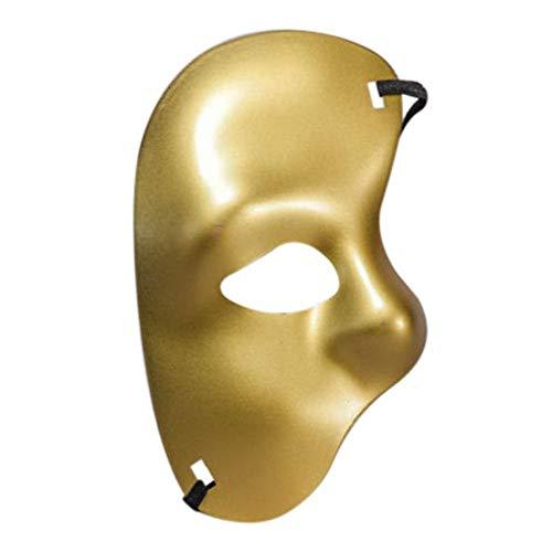 Lianaic Maske Maskerade Maske Halloween Schädel Party Ball Maske Zubehör C