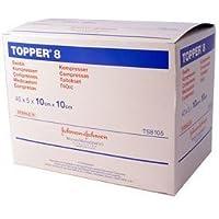 Topper 8 Sterile Swabs (10cm x 10cm x 40 x 5) preisvergleich bei billige-tabletten.eu