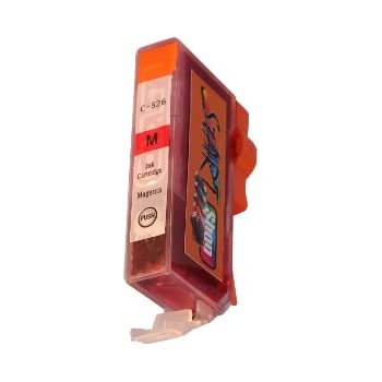 Start - Cartouche CHIP d'encre compatibles pour imprimantes CLI-526 Magenta pour Canon Pixma IP 4820, 4850, IX 6520, 6550, MG 5120, 5150, 5170, 5220, 5250, 5270, 6120, 6150, 6170, 8120, 8150, 8170, MX 882, 885, 886