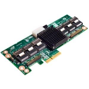 Intel RES2SV24024-Port SAS Controller Expander–Serial ATA/600–PCI Express x4–Plug-in-Karte–RAID unterstützt–insgesamt 6SAS PORT (S)–6SAS PORT (S) intern–RES2SV240