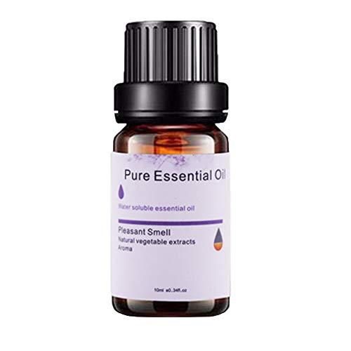 Wawer 6pcs / Set Ätherische Öle 10ml Aromatherapie Duftöl 100% Reine natürliche ätherische & Duftöle für Vielseitige Aroma Verwendung - Minze, Orangenblüte, Teebaum, Rosmarin, Lavendel, Zitronengras