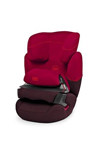CBX by CYBEX Aura, Autositz Gruppe 1/2/3 (9-36 kg), Kollektion 2015, Rumba Red