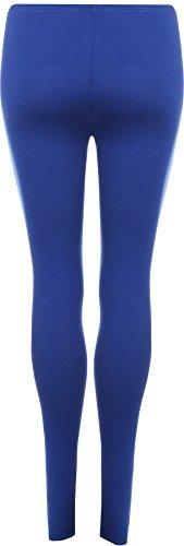WearAll - Legging Cadrage s'étirer - Hauts - Femme - Tailles 36 - 38 Bleu électrique