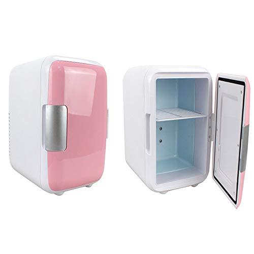 HENGKANG 5L Mini-Kühlschrank, Warm Und Kalt, Für Auto Und Zuhause,Pink,Car&Home