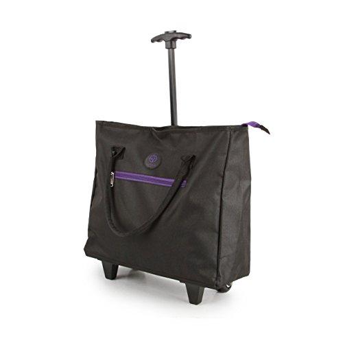 Leichte Einkaufstasche auf Rädern, Shopping-Trolley, Reisetasche, Kurzreisegepäck (Leichten, Gepäck Robusten)