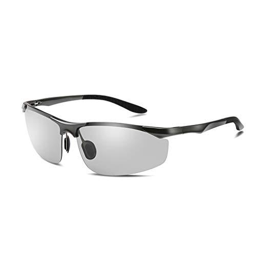 Herren sonnenbrillen Polarisierte Sonnenbrillen.Sonnenbrillen.Sport Polarisierte Sonnenbrillen.Männer Polarisierte Sport-Sonnenbrillen.Sonnenbrillen zum Laufen Radfahren Angeln Golf.Farbe: Grau