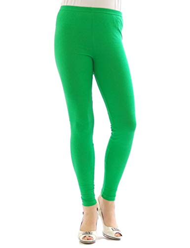 YESET Femme Legging Longueur Longues caleçons en Coton Vert M