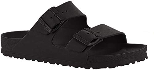 Birkenstock 129423 Classic Arizona Eva, Unisex Adults' Mules, Black (Black), 7 UK (40 EU)