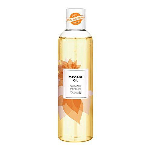 Aroma Massageöl für entspannende Massagen | erotisches Massage Öl | sinnliches Karamell-Aroma | 250ml