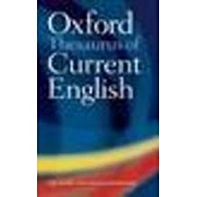 Oxford Dictionary & Thesaurus Of Current English
