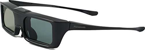 Panasonic TY-ER3D6ME Aktive Bluetooth Shutterbrille (Batterie, aktiv 3D, geeignet für Panasonic Viera TV) schwarz