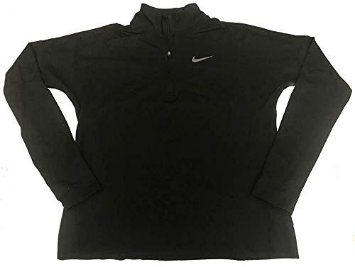 Nike Damen Active Running 1/2 Zip Top - schwarz - Medium Nike Mock Neck