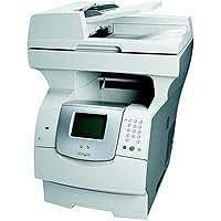 Lexmark X642e MFP - Multifonction (télécopieur / photocopieuse / imprimante / scanner) - Noir et blanc - laser - copie (jusqu'à) : 43 ppm - impression (jusqu'à) : 43 ppm - 600 feuilles - 33.6 Kbits/s - USB, 10/100 Base-TX