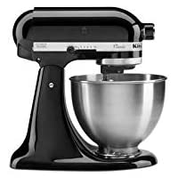 KitchenAid 5K45SSEOB Classic Robot pâtissier Noir 4,3 L
