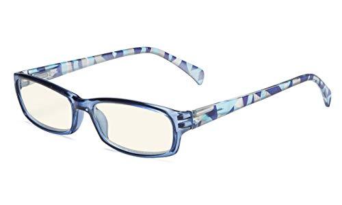 Eyekepper-ComputerBrille Digitales Auge  Belastung Prävention Brillen (Blau, 2.00)