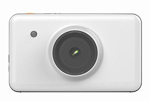 GCC Polaroid-Kamera, Mobile Fotodrucker mit Bildschirm Bluetooth Vorschau Eines Bildes,Weiß,Einheitsgröße