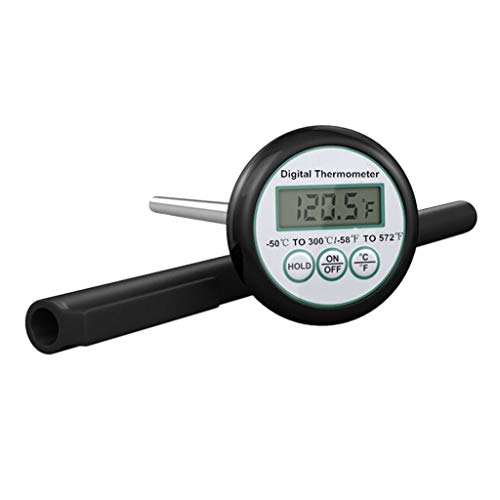 LAOSI Portable Digital BBQ Food Probe Fleisch Küche Essen Kochen Grillen Thermometer Flüssigkeitstemperatur Werkzeug (Food-probe Kit)