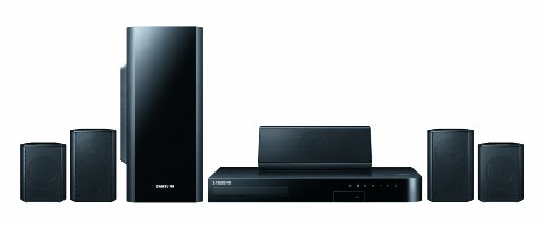 Samsung HT-H5500-x 5.1 3D Blu-ray-Heimkinosystem (1000W, WLAN, Bluetooth, Smart TV) schwarz