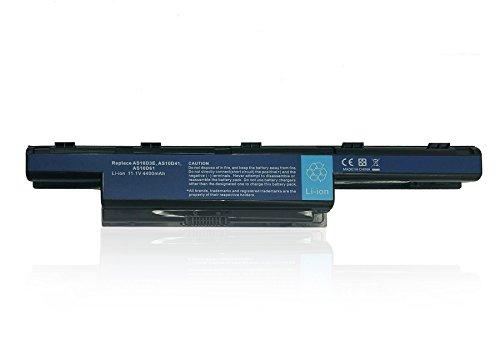 Batería de Repuesto AS10D3E AS10D31 AS10D41 AS10D61 AS10D71 AS10D81 para Acer Aspire 4250G 4350G 5741G / TravelMate/ Emachines/ Packard Bell Portátil Bateria [11.1V 4400mAh]