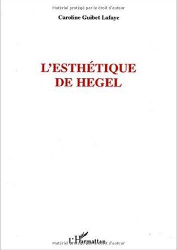 L'esthétique de Hegel
