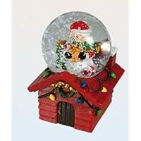 Bola de Nieve Taxi New York con Arbol Navidad Serie Blanca Navidad White Christmas
