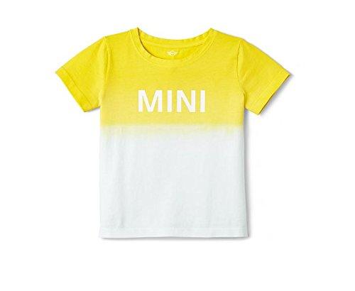 Original MINI Kinder T-Shirt lemon gelb - Kollektion 2016/18 - Größe 110 -