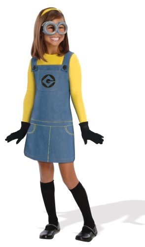 Female Minion (Despicable Me 2™) - Kids Costume Medium (Despicable Me 2 Kostüme)