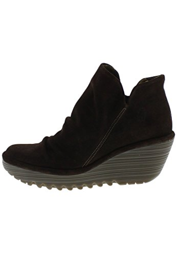 FLY London Yip Oil Suede, Bottes femme grau