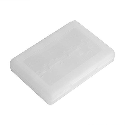 Zetiling Kunststoff-Spielkartenhalter, 28 in 1 PP-Kassetten-Aufbewahrungsbox, Spiel-Halterung, Kartenetui, für Nintendo 3DS DSL DSI LL 1# - Nintendo-spiele-kassette