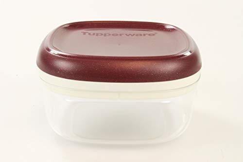 TUPPERWARE Clear Collection 240 ml Crystal bordeaux- transparent Vorratsdose