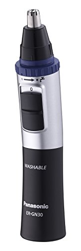 Panasonic-ER-GN30-Nose-Ear-and-Facial-Hair-Trimmer-WetDry-with-Vortex-Cleaning-System-Black