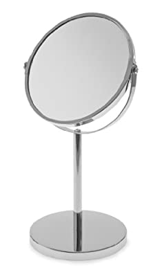 Blue Canyon Free Standing Pedestal Shaving/ Make Up Mirror produced by Blue Canyon - quick delivery from UK.