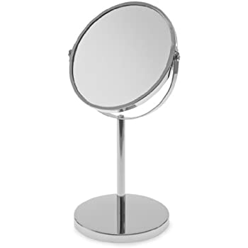 Blue Canyon Free Standing Pedestal Shaving/Make Up Mirror