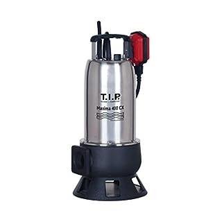 T.I.P. 30140 Schmutzwasser Tauchpumpe Baupumpe Maxima 400 CX, bis 24.000 l/h Fördermenge