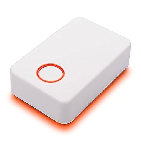 Carbest Gaswarngerät Gas CUBE Alarm Multigasmelder, Propan,Butan,Co, Ko Gase