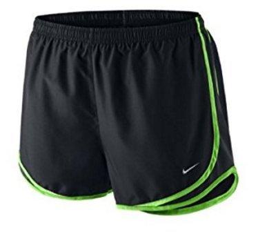 Nike W nk Dry Tempo Short, Damen XS Schwarz (schwarz / Elektro-grün / Wolfgrau) (Shorts Grüne Damen Tempo)