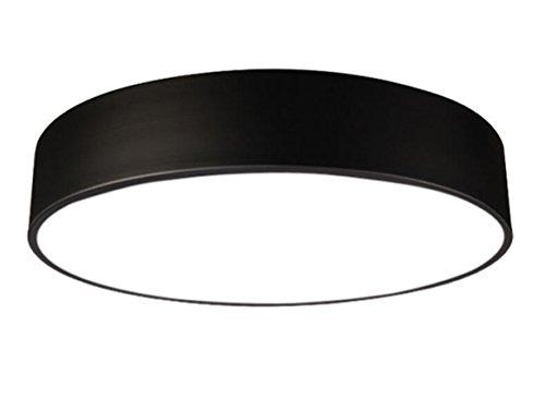 Deckenlampe für badezimmer  Badlampe Deckenlampe Led Modern Rund Schwarz Leuchten ...