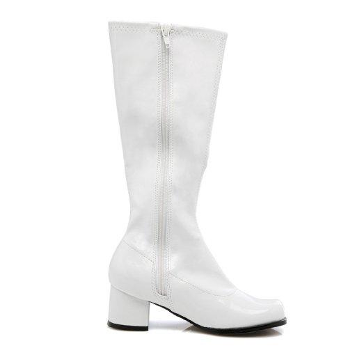 Ellie Shoes 33641 Dora Wei- Child Boots Gr--e Medium 13-1 (Und Boots Kostüm Dora)