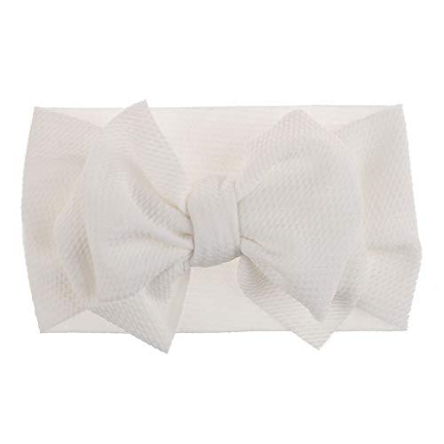 Sanahy Baby Mädchen Stirnbänder und Bögen, Haarschmuck für Neugeborene Kleinkind Mädchen Nylon Stirnbänder Kinder Geschenke Jersey Nylon Pullover