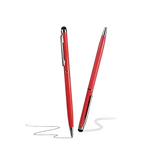 C63® Red Touch Screen Stylus Pen with Ball Point Pen 7