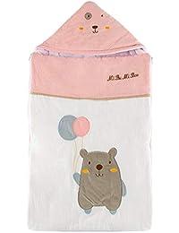 HALOViE Bebés Saco de Dormir Sacos de abrigo Capazo Recién Nacido Otoño Infantil Invierno Algodón Cochecitos Cama Manta Edredón…