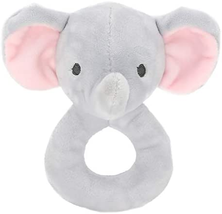 NiceButy NiceButy NiceButy Attrapez main apaisante Jouet Apaisez Jouet Cartoon animal en peluche Poupée Hochet pour les bébés (Elephant) Nice cadeau | Durable Dans L'utilisation  9c907a